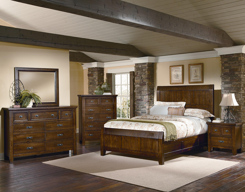 Vaughan Bassett Timber Mill King Bedroom Group - Item Number: BB58 K Bedroom Group 1