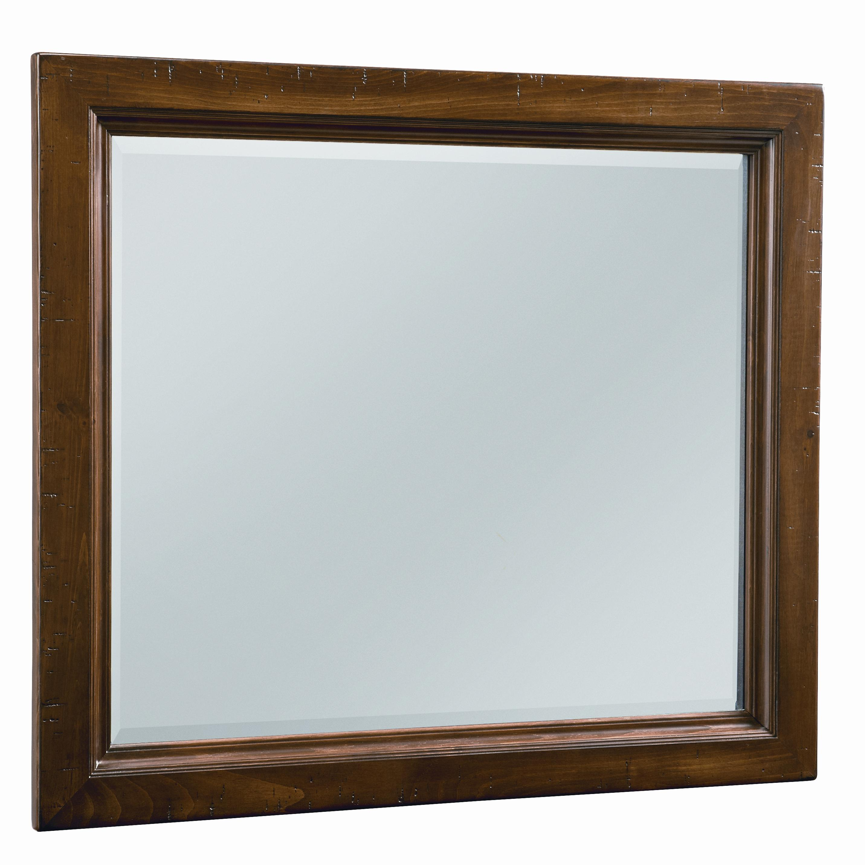 Vaughan Bassett Timber Mill Chesser Mirror - bevel glass - Item Number: BB58-446