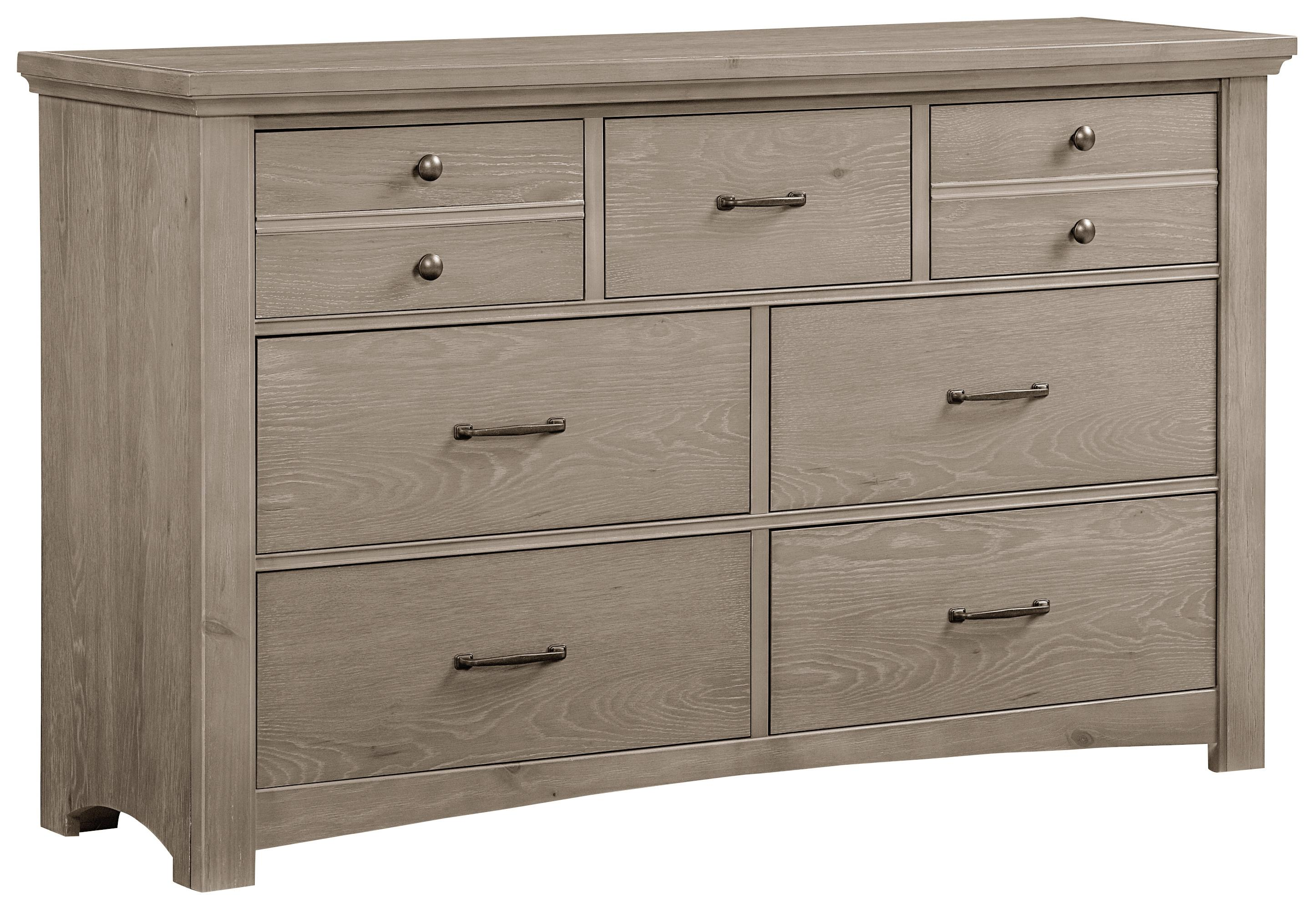 Vaughan Bassett Transitions Dresser - 7 drawers - Item Number: BB61-002