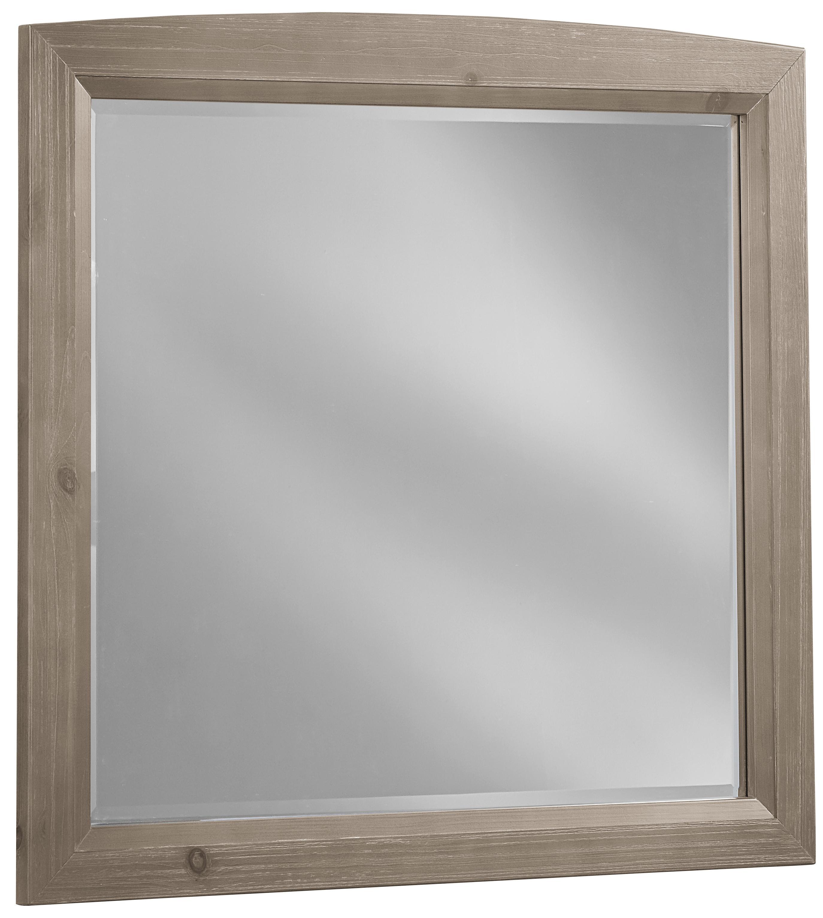 Vaughan Bassett Transitions Landscape Mirror - Item Number: BB61-446
