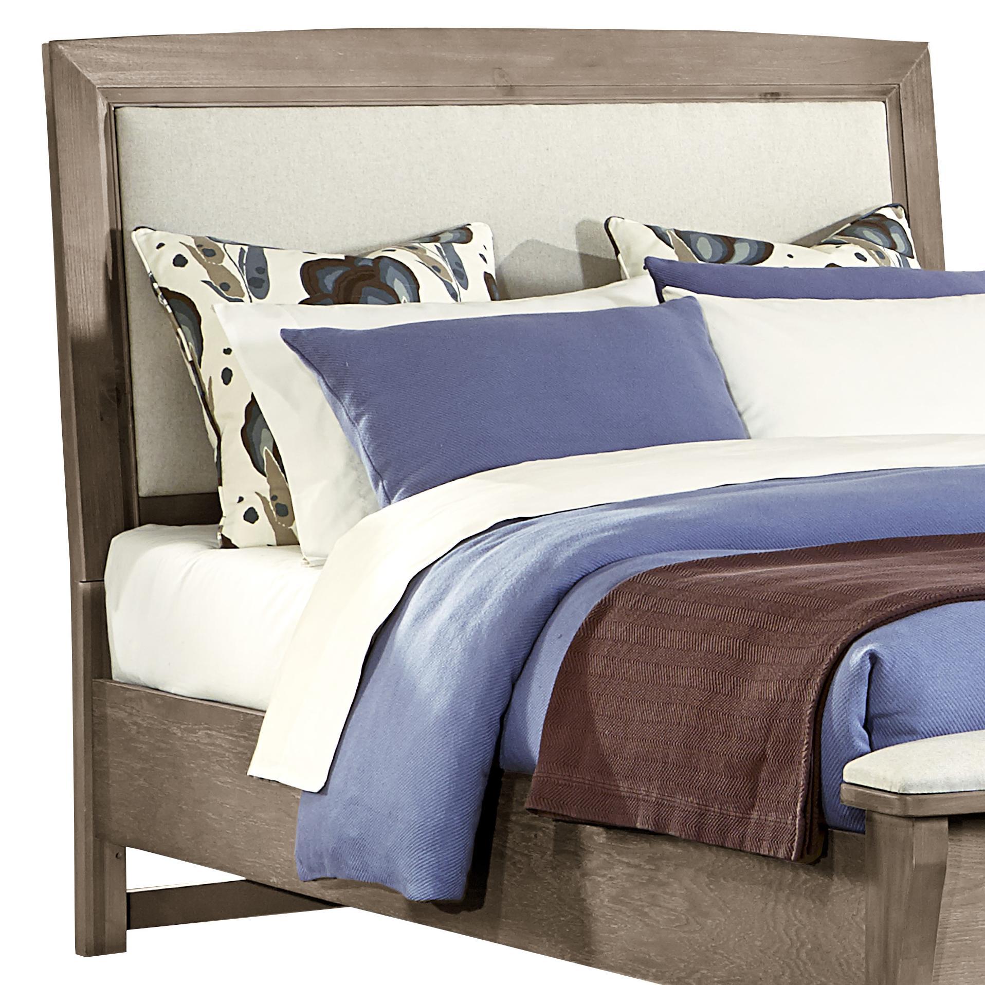 King/Cal King Upholstered Headboard (Linen)