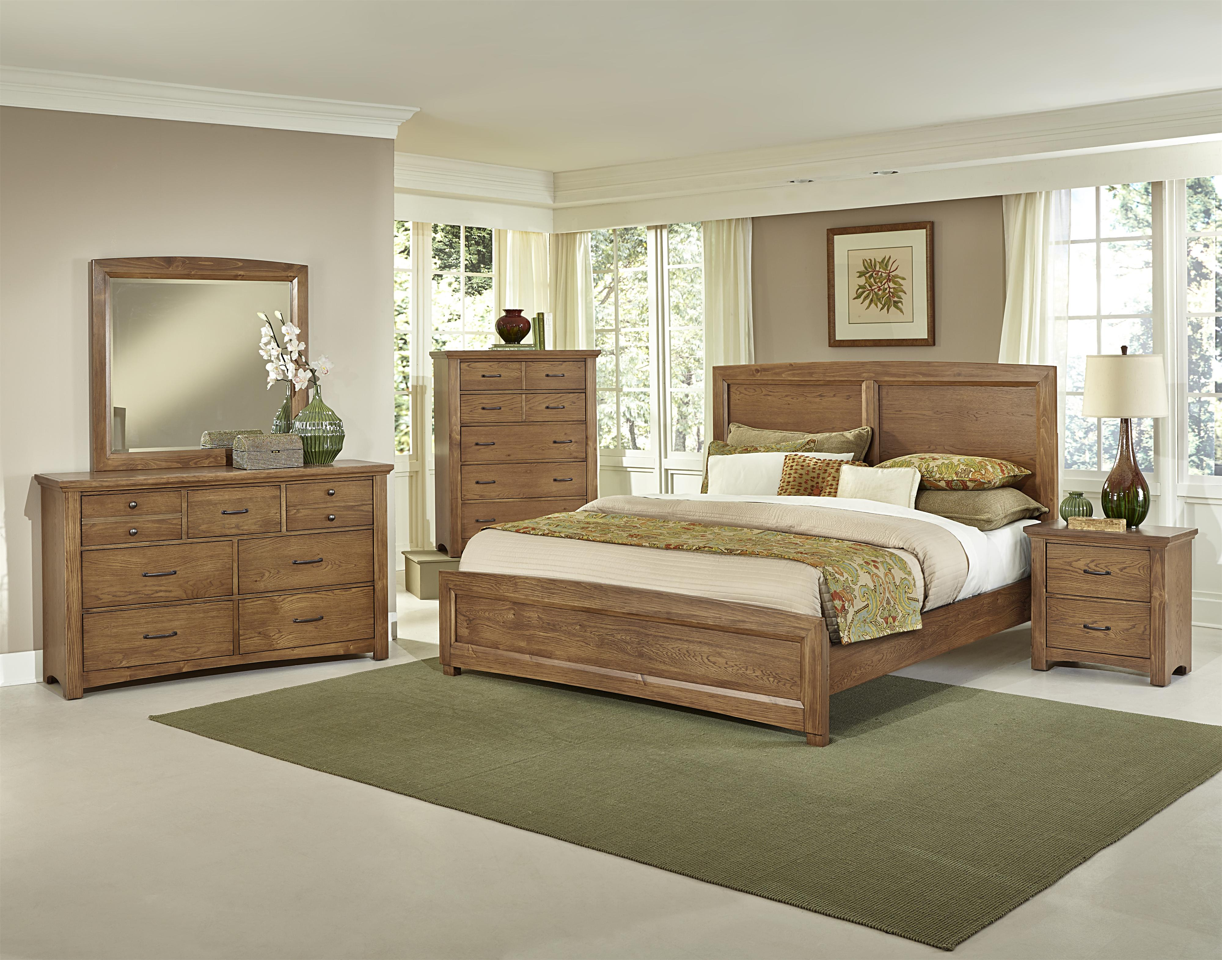 Surprising Transitions Queen Bedroom Group By Vaughan Bassett At Dunk Bright Furniture Interior Design Ideas Tzicisoteloinfo