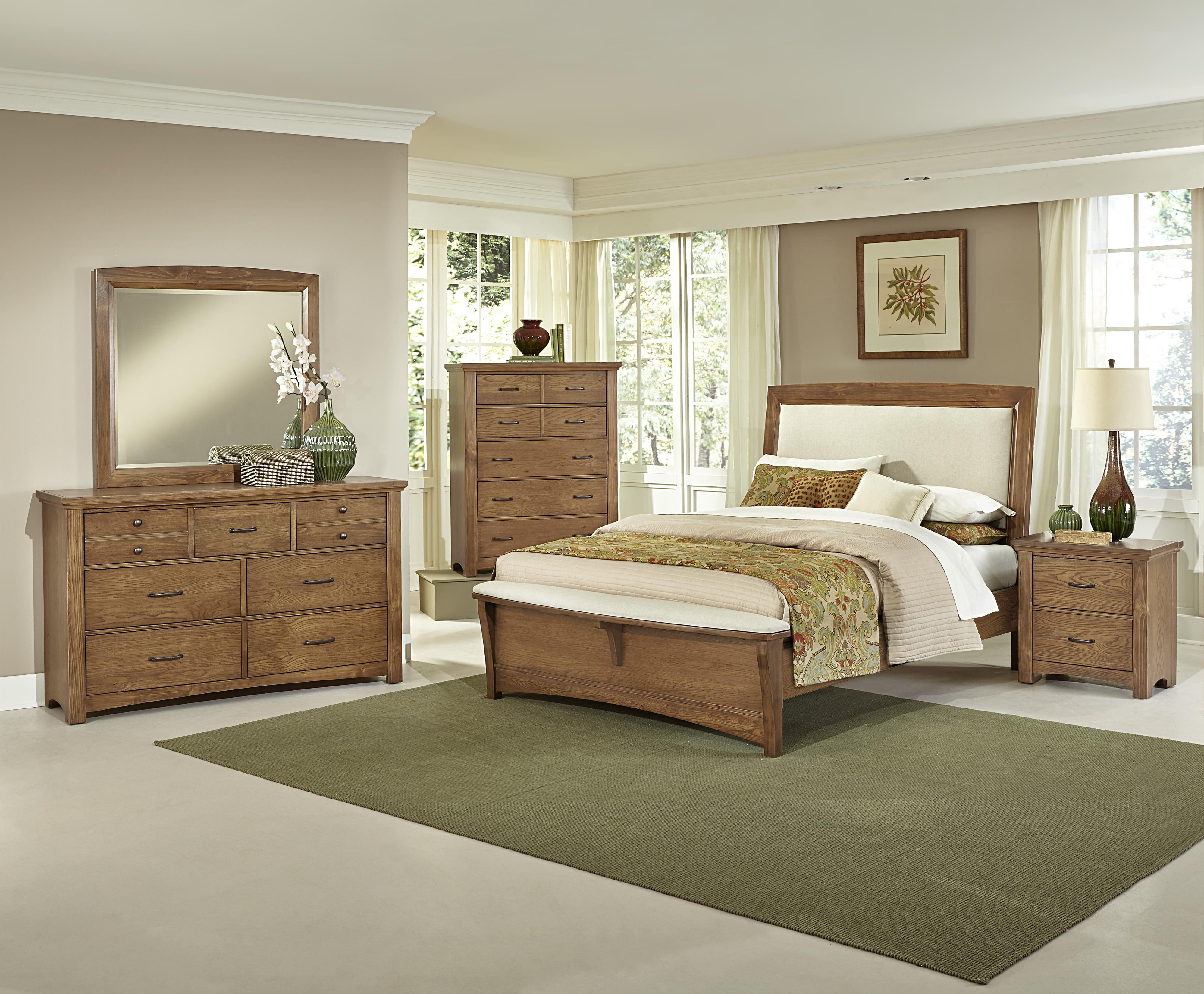 Vaughan Bassett Transitions Queen Bedroom Group - Item Number: BB63 Q Bedroom Group 4