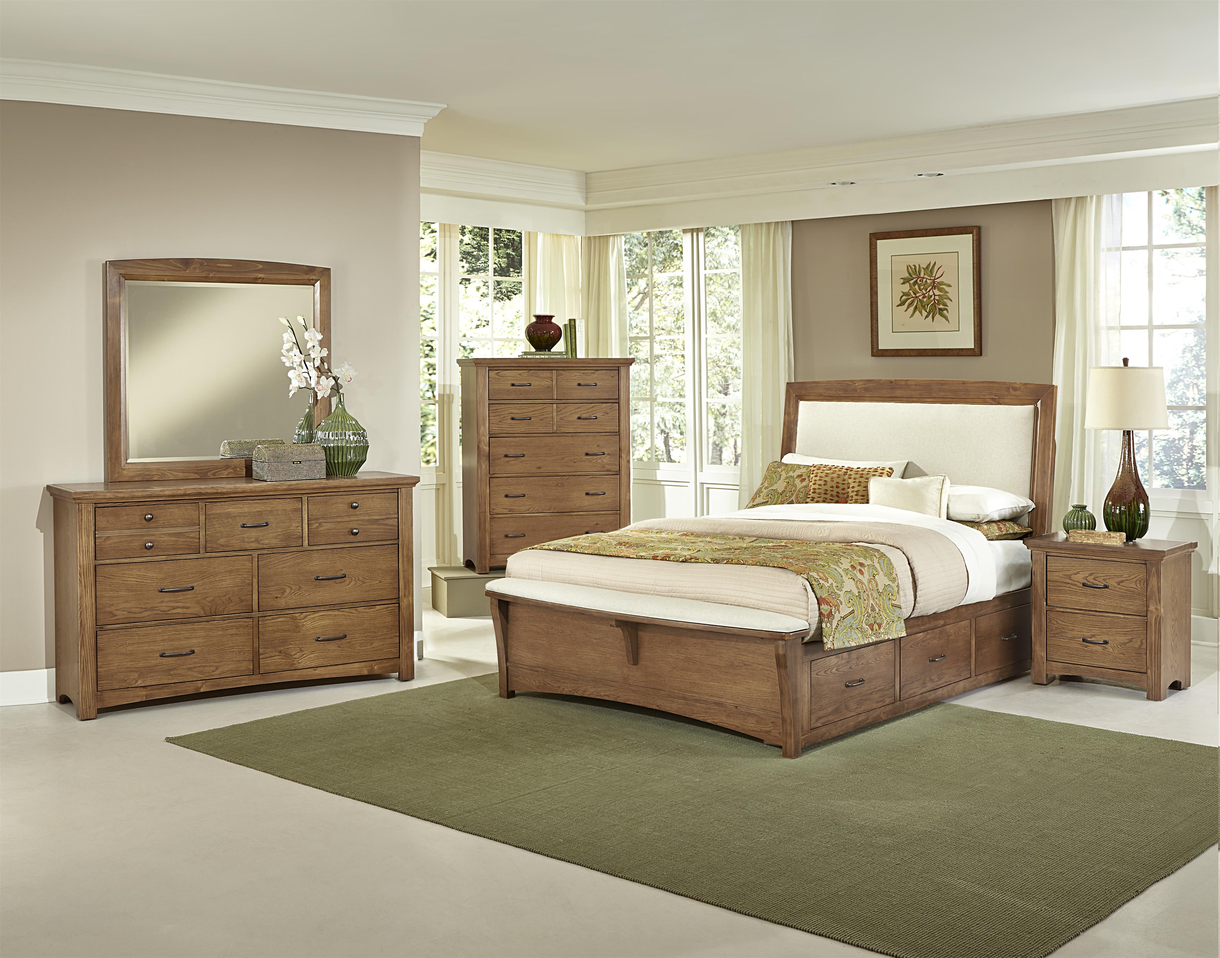 Vaughan Bassett Transitions Queen Bedroom Group - Item Number: BB63 Q Bedroom Group 5