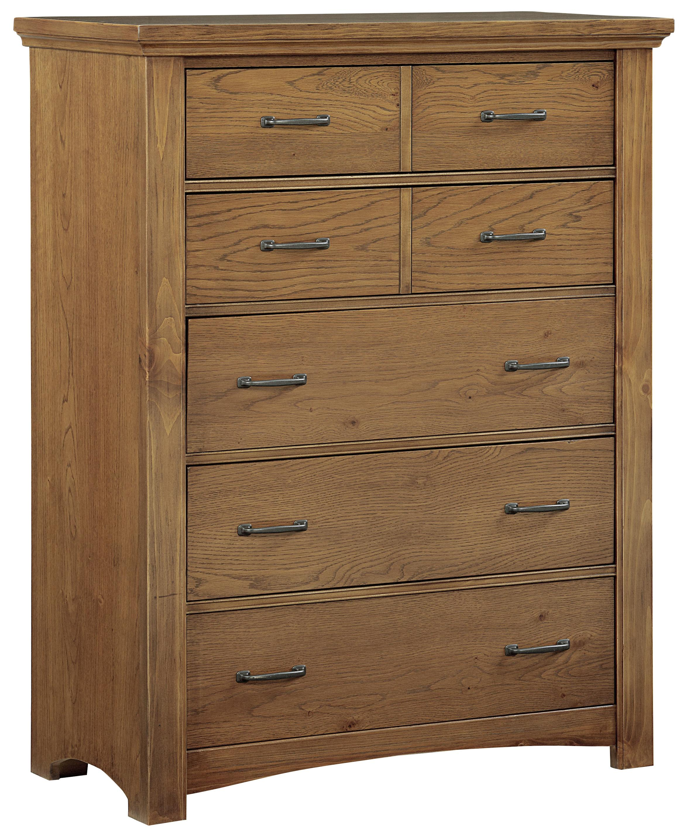 Vaughan Bassett Transitions Chest - 5 drawers - Item Number: BB63-115