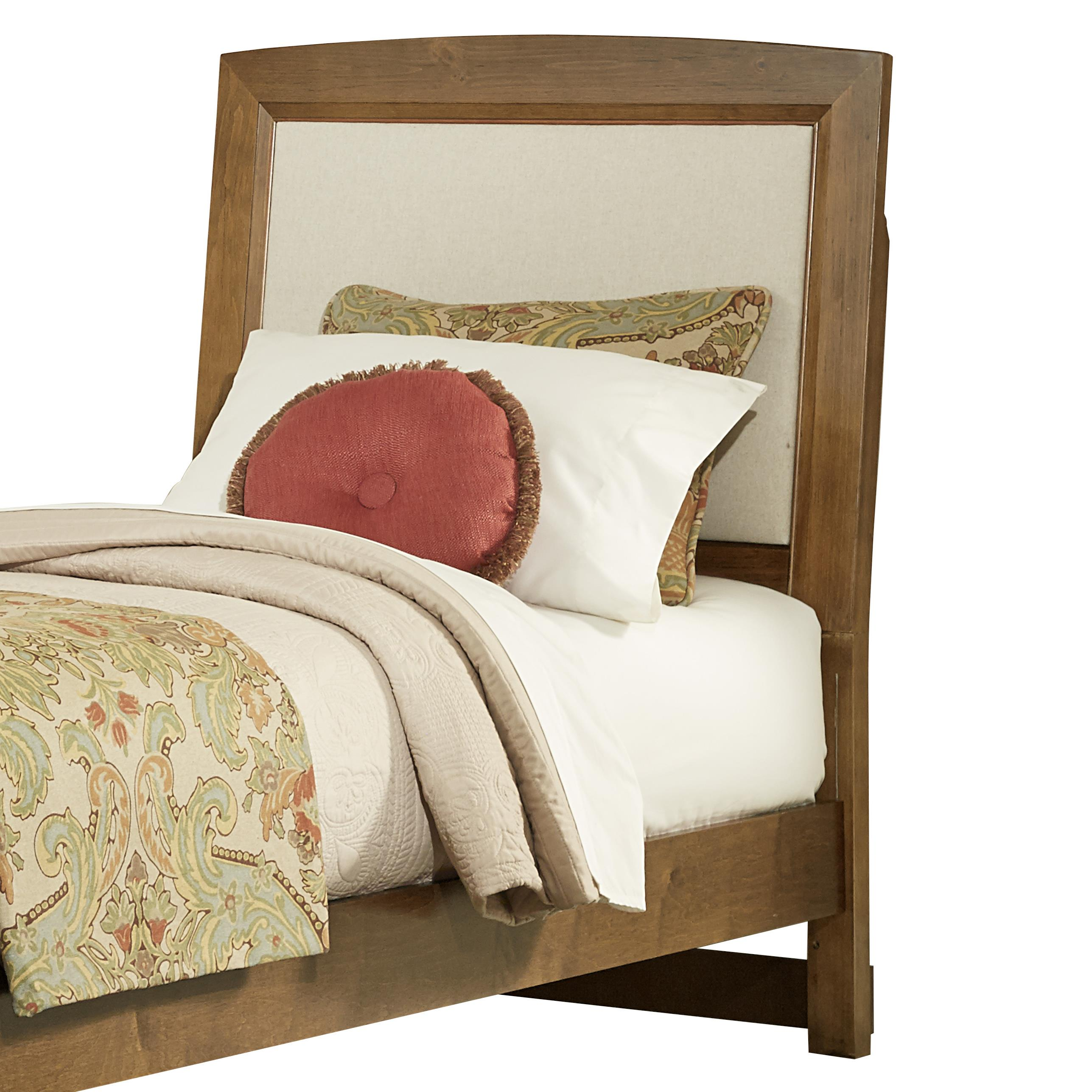 Twin Upholstered Headboard, Base Cloth Linen