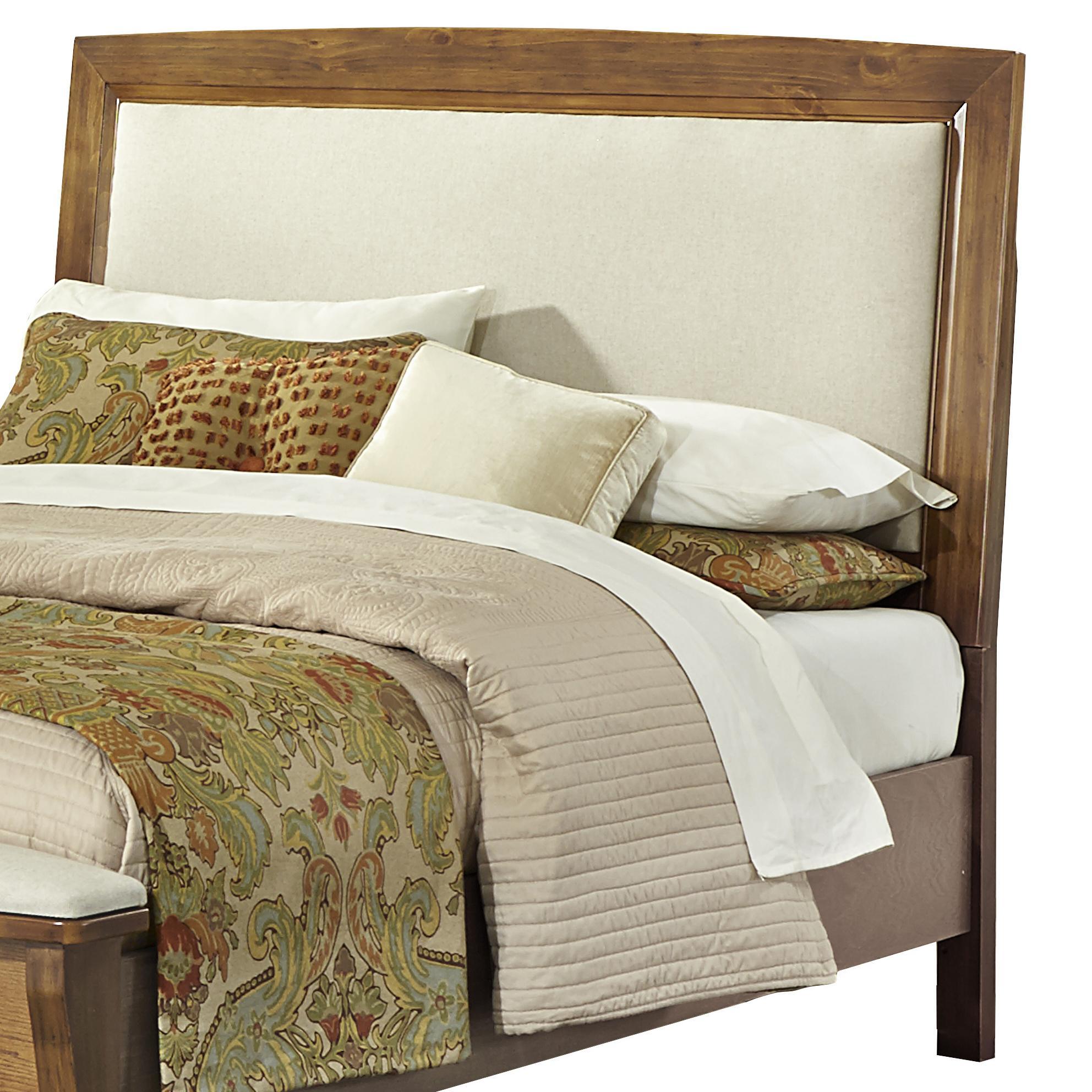 Full Upholstered Headboard, Base Cloth Linen