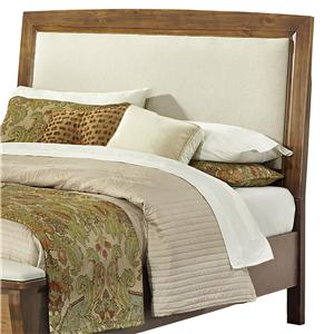 Vaughan Bassett Transitions Full Upholstered Headboard, Base Cloth Linen