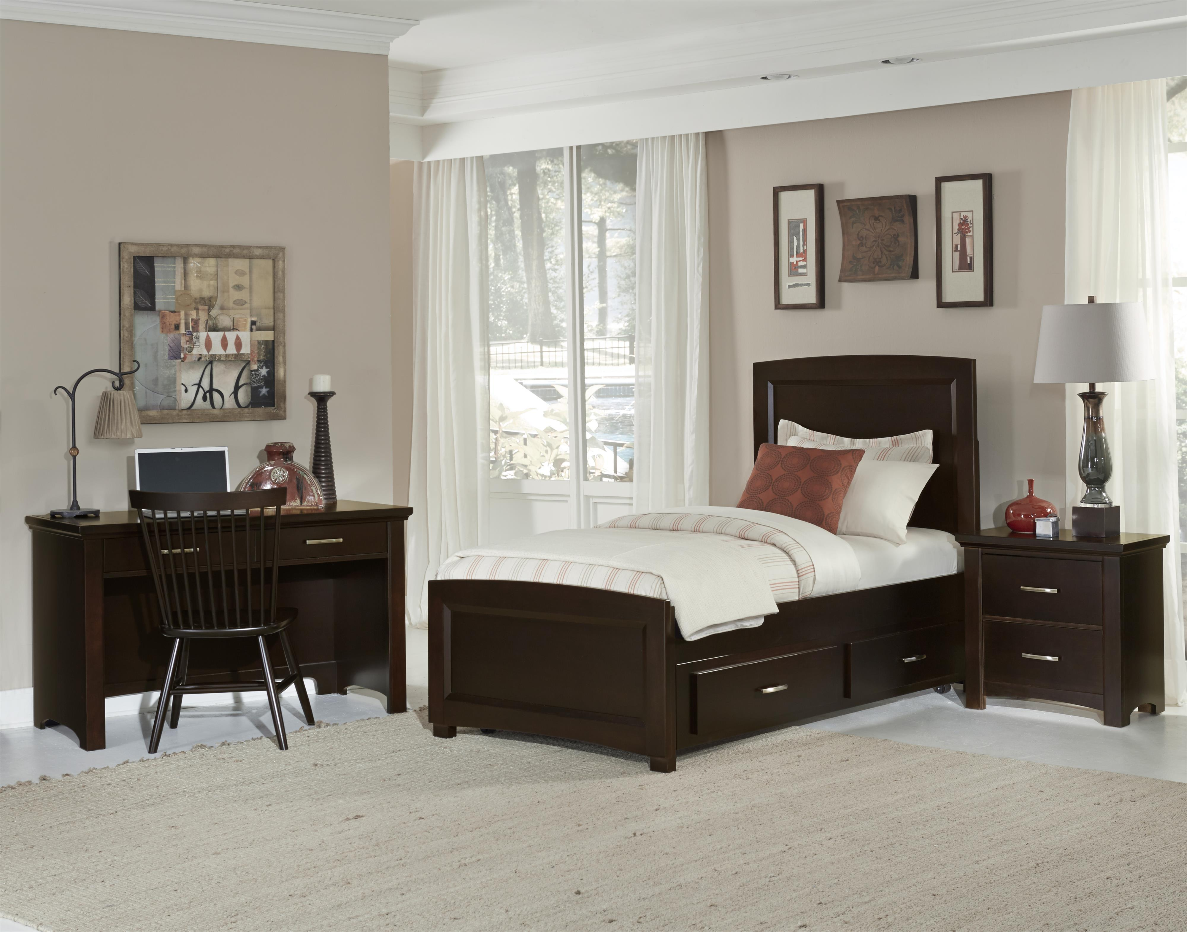 Vaughan Bassett Transitions Twin Bedroom Group - Item Number: BB67 T Bedroom Group 2