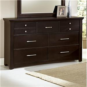 Vaughan Bassett Transitions Dresser - 7 drawers