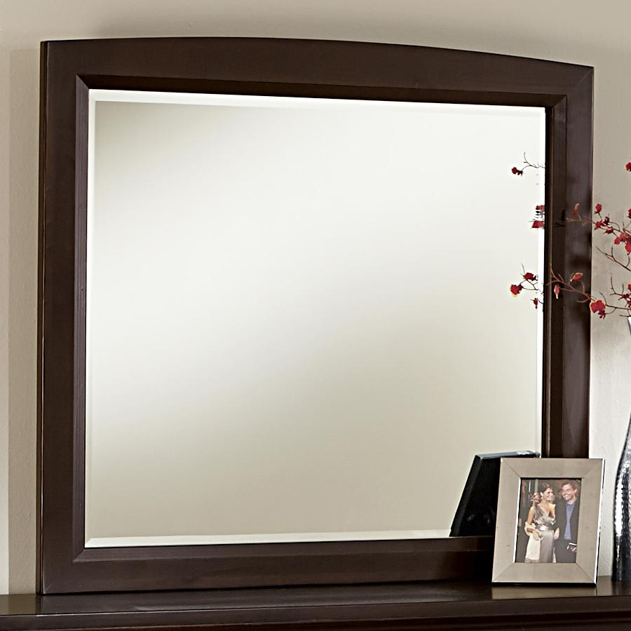 Vaughan Bassett Transitions Landscape Mirror - Item Number: BB67-446
