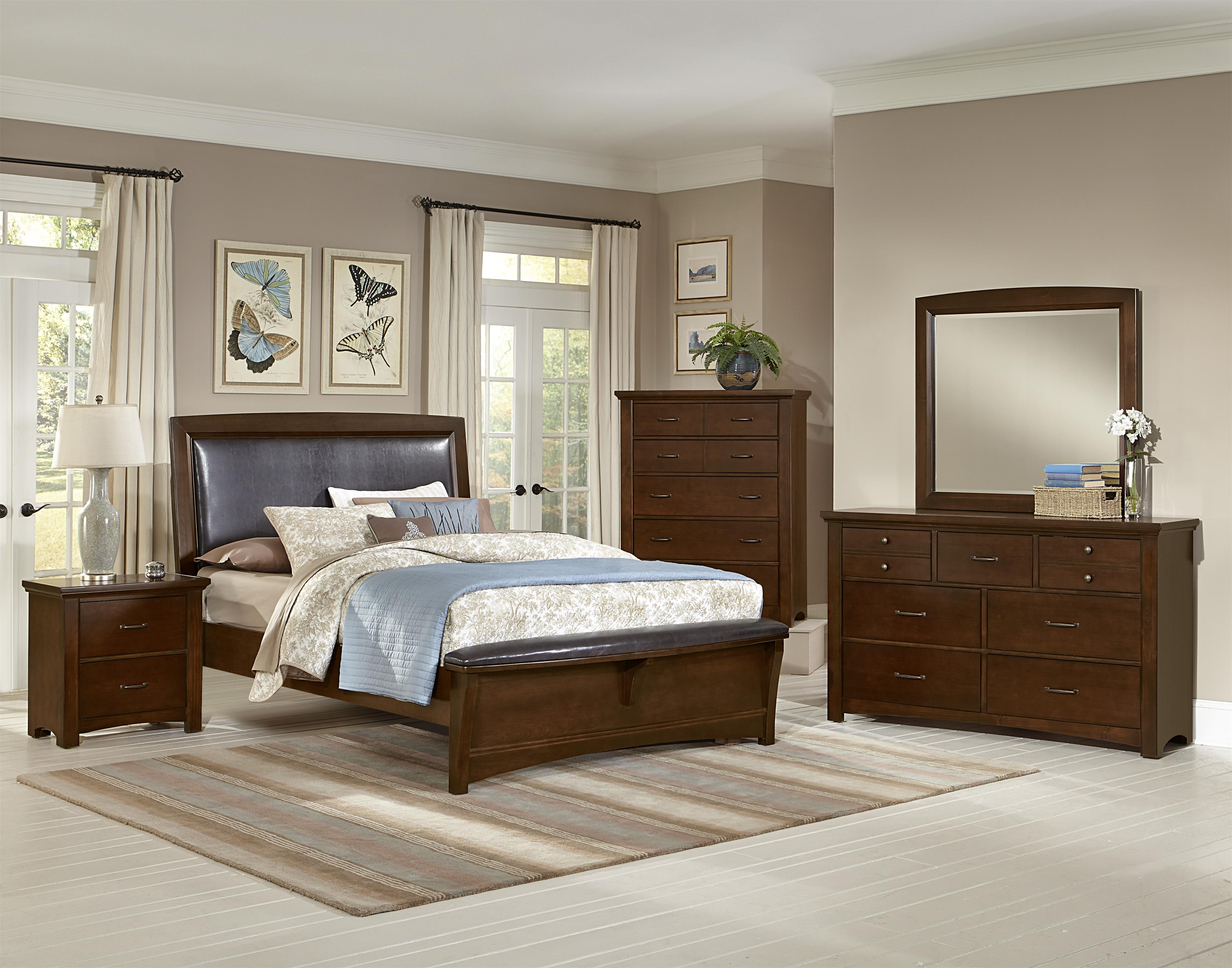 Vaughan Bassett Transitions Queen Bedroom Group - Item Number: BB68 Q Bedroom Group 4