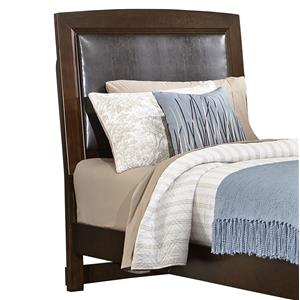Vaughan Bassett Transitions Twin Uph. Headboard (Bonded Leather)