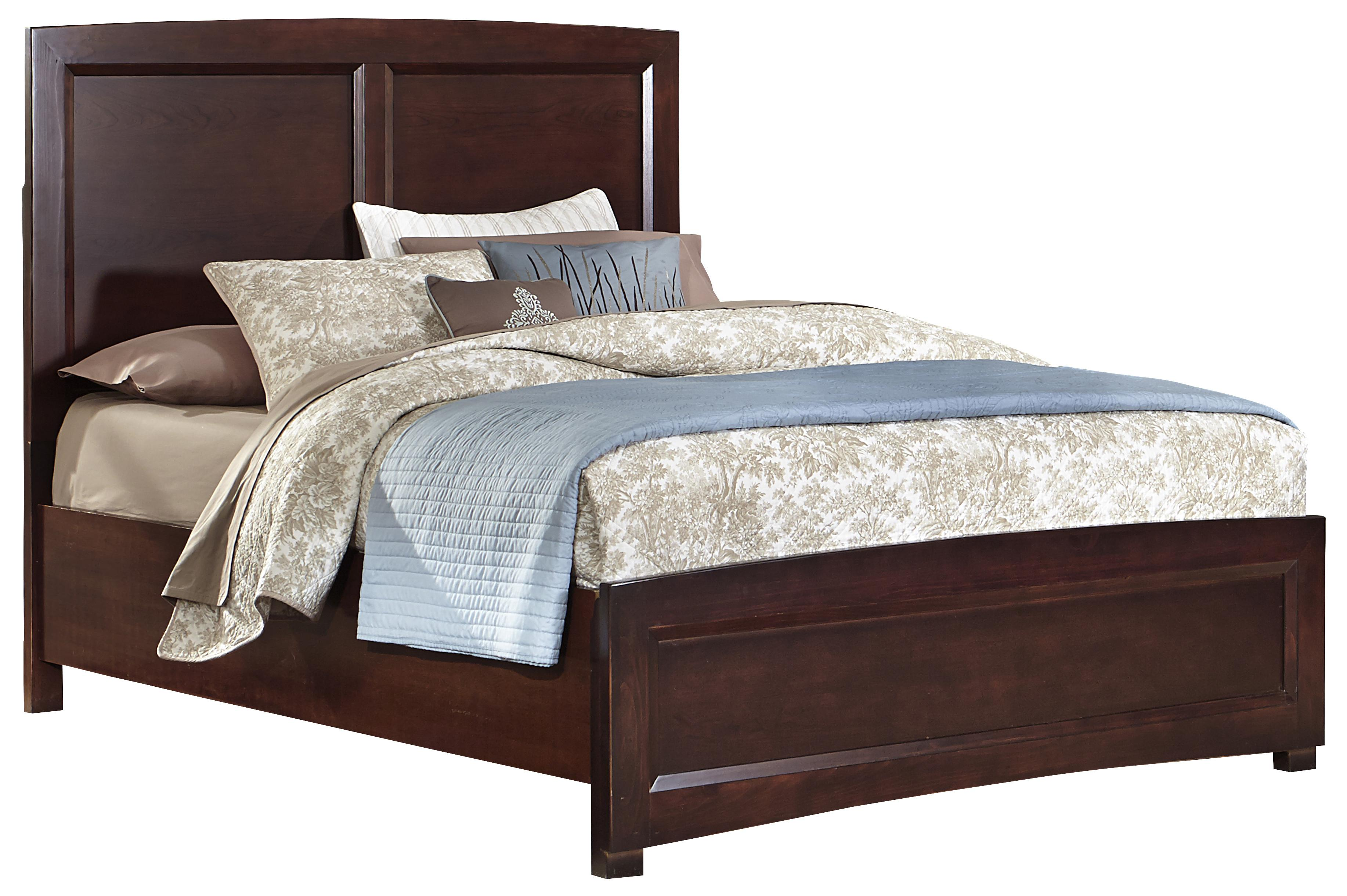 Vaughan Bassett Transitions Full Panel Bed - Item Number: BB68-552+255+911