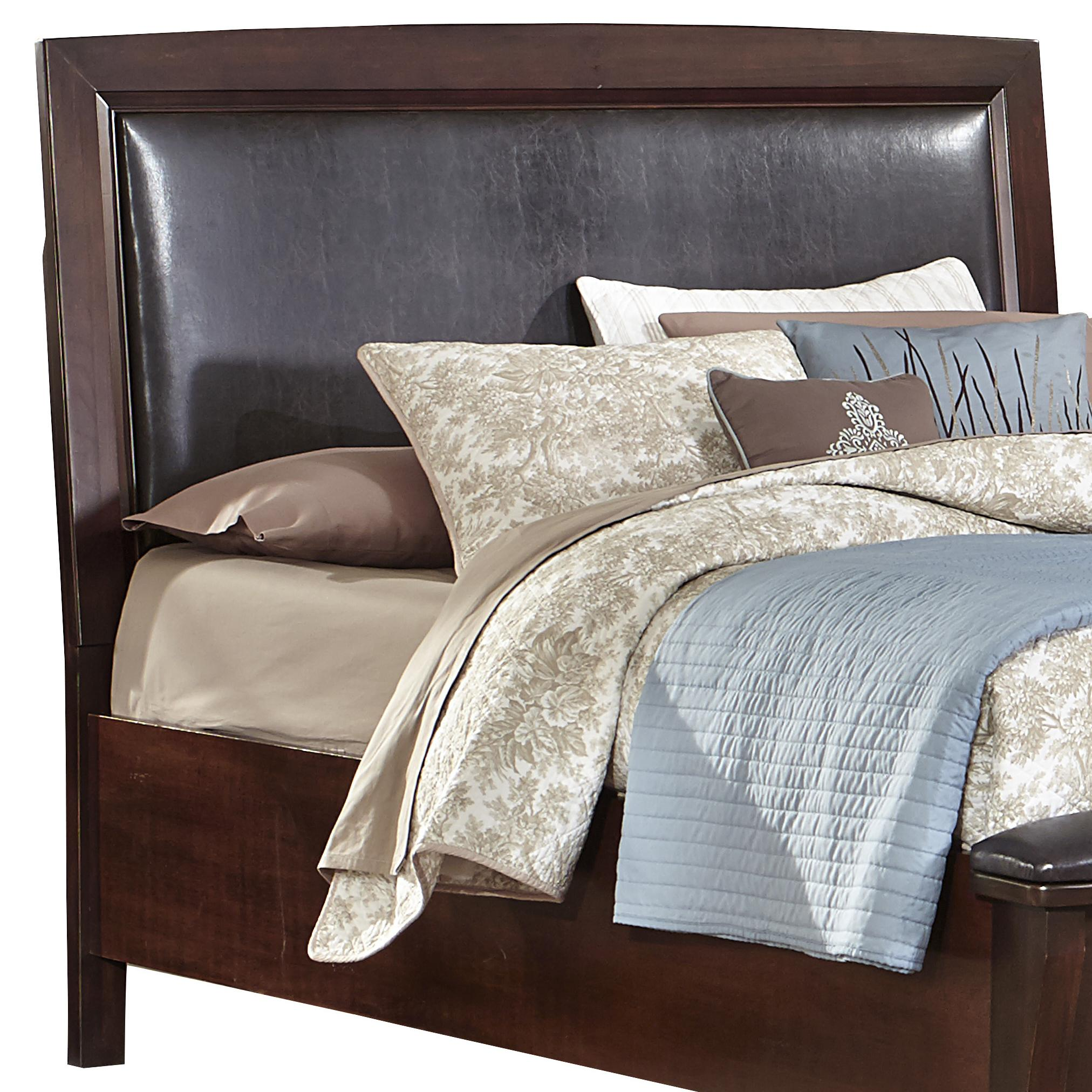 Vaughan Bassett Transitions King/Cal King Uph Headboard (Bonded Leather) - Item Number: BB68-669