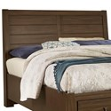 Vaughan Bassett Urban Crossings Queen Plank Headboard - Item Number: 700-559