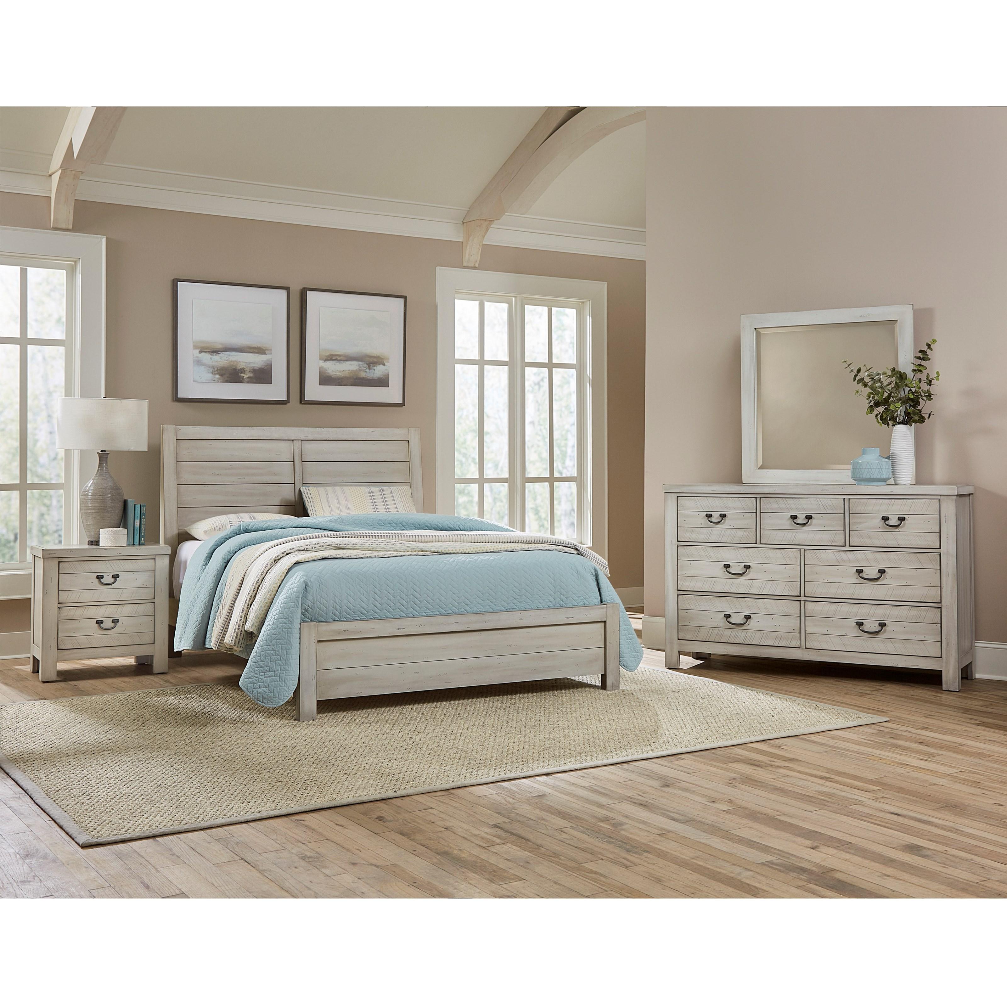 Bassett Furniture Jacksonville Fl: Vaughan Bassett Urban Crossings Queen Bedroom Group