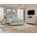 Vaughan Bassett Urban Crossings Queen Bedroom Group - Item Number: 704 Q Bedroom Group 3