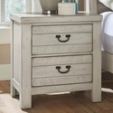 Vaughan Bassett Urban Crossings 2 Drawer Nightstand  - Item Number: 704-226