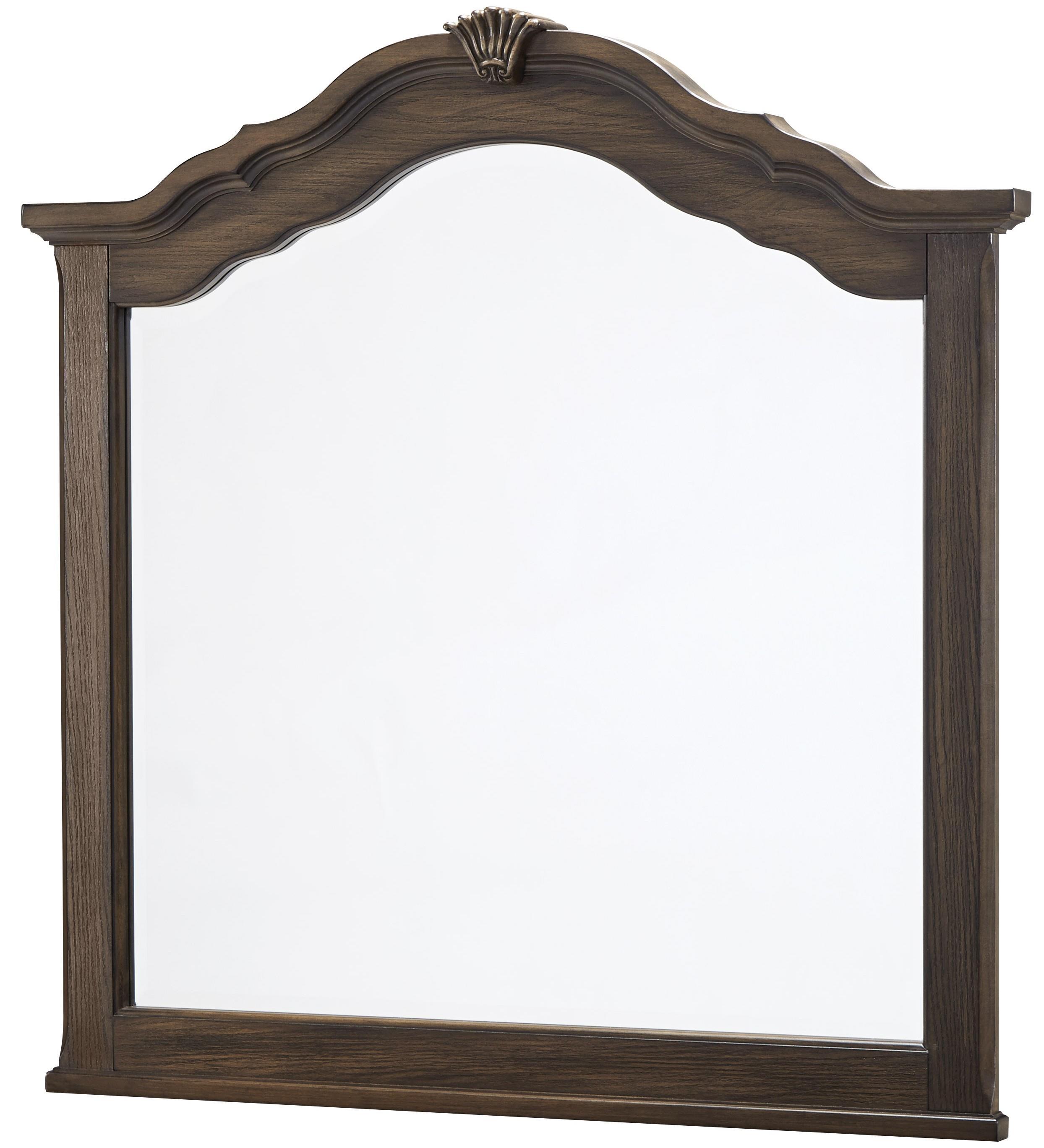 Vaughan Bassett Villa Sophia Shelter Mirror - Item Number: 520-447