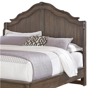 Vaughan Bassett Villa Sophia King Shelter Bed Headboard
