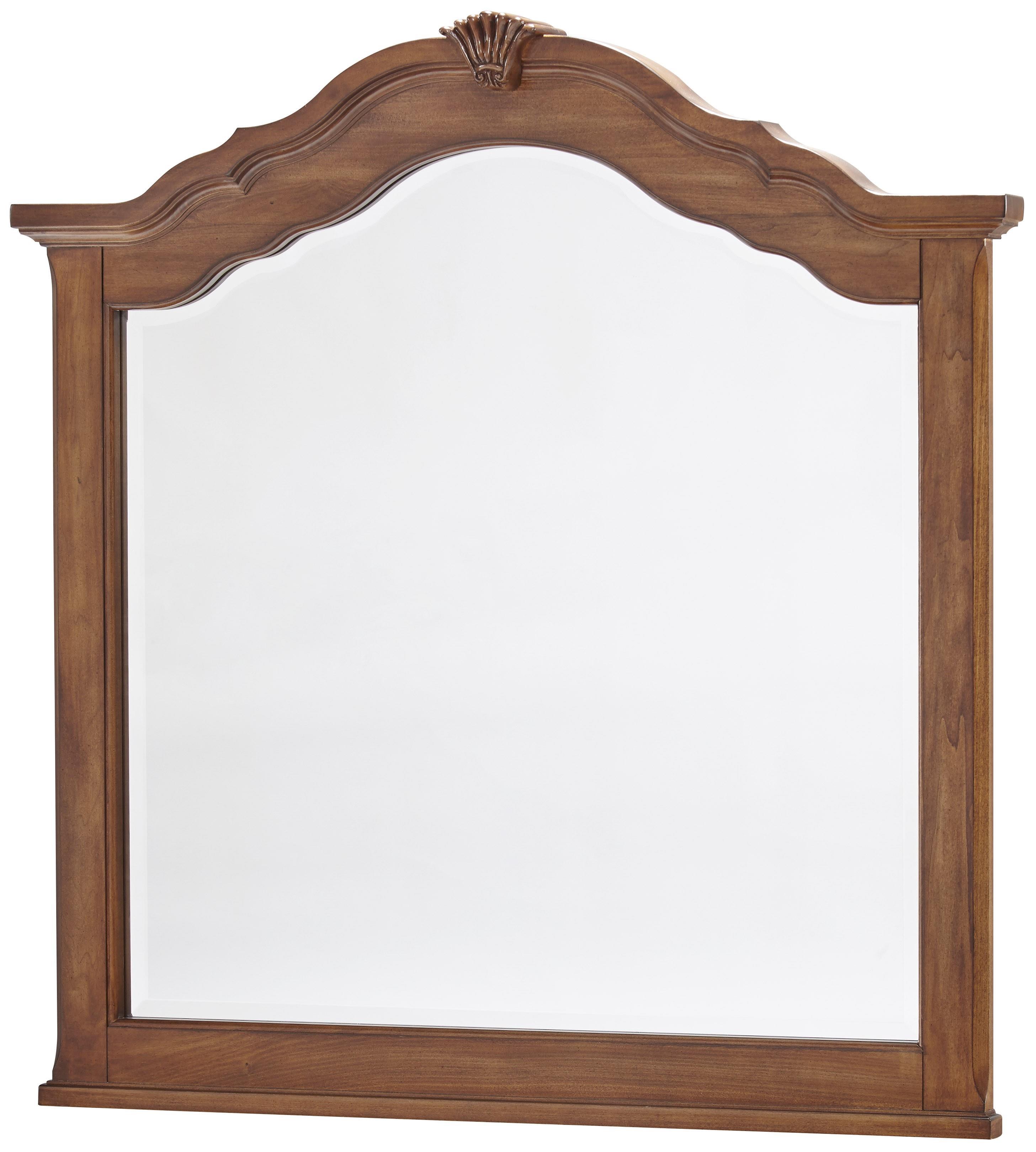 Vaughan Bassett Villa Sophia Shelter Mirror - Item Number: 522-447