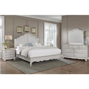 Vaughan Bassett Villa Sophia King Bedroom Group