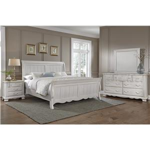Vaughan Bassett Villa Sophia Queen Bedroom Group