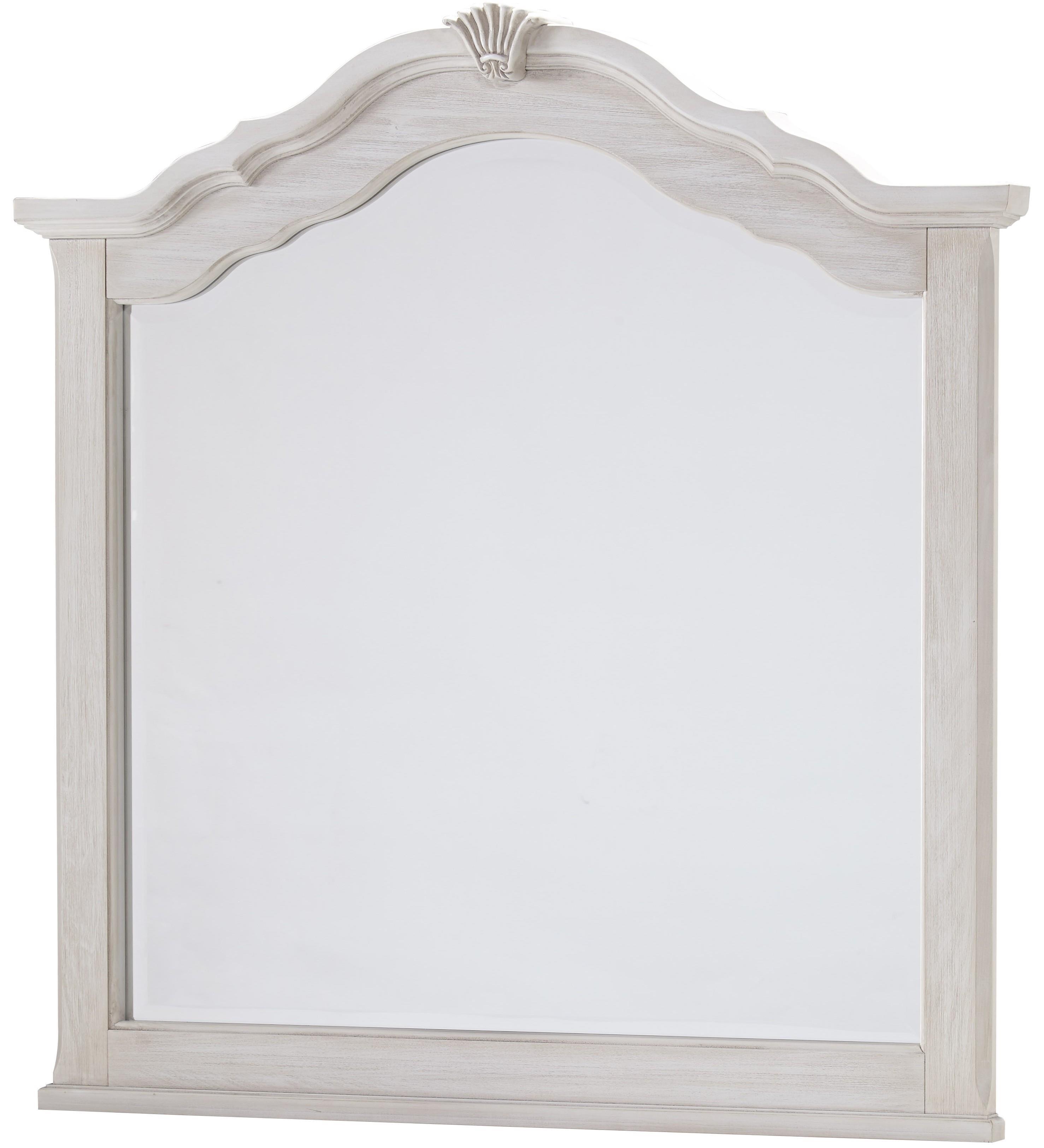 Vaughan Bassett Villa Sophia Shelter Mirror - Item Number: 524-447