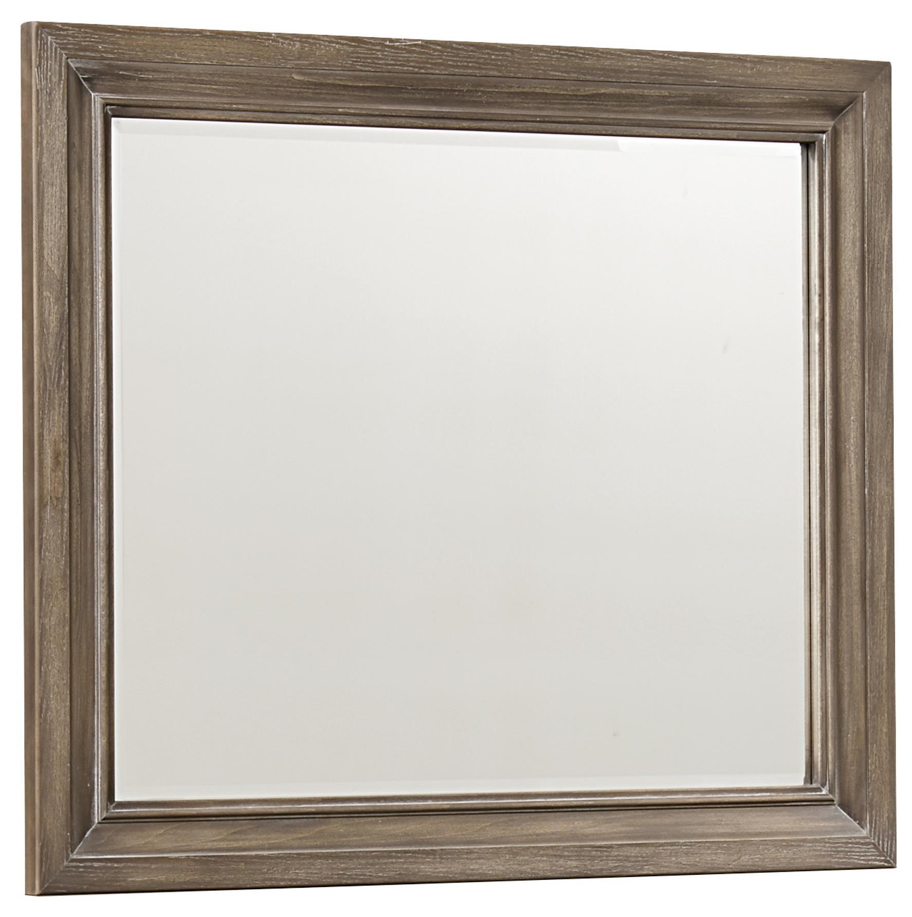 Vaughan Bassett Whiskey Barrel Landscape Mirror - Item Number: 814-446