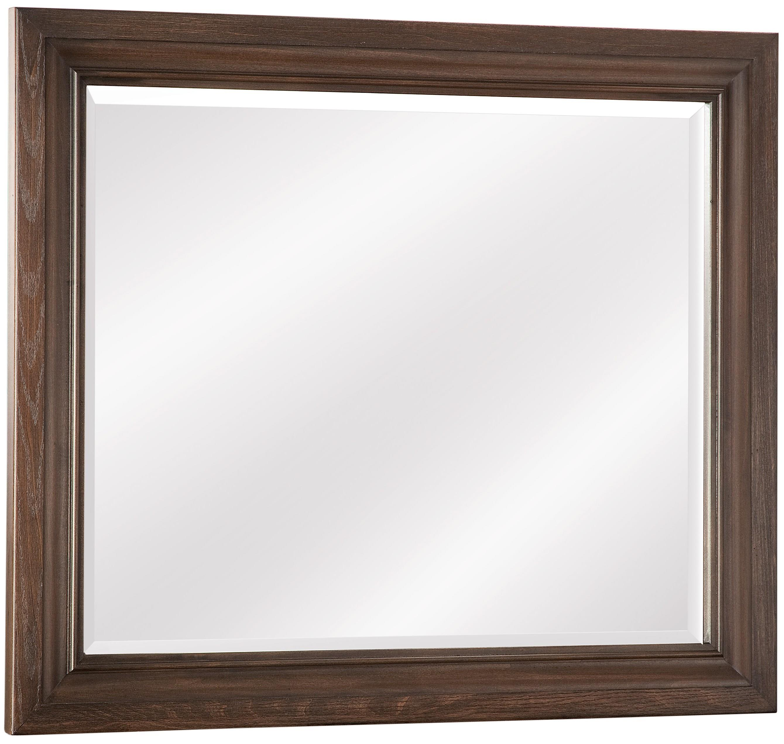 Vaughan Bassett Whiskey Barrel Landscape Mirror - Item Number: 816-446
