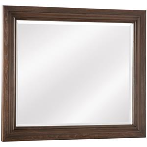 Vaughan Bassett Whiskey Barrel Landscape Mirror