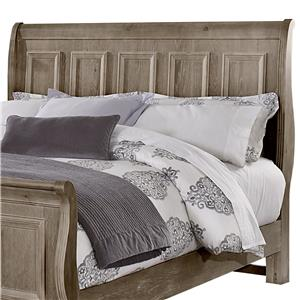 Vaughan Bassett Woodlands Queen Sleigh Headboard