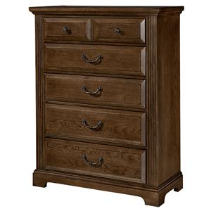 Vaughan Bassett Woodlands Chest - 5 drawers