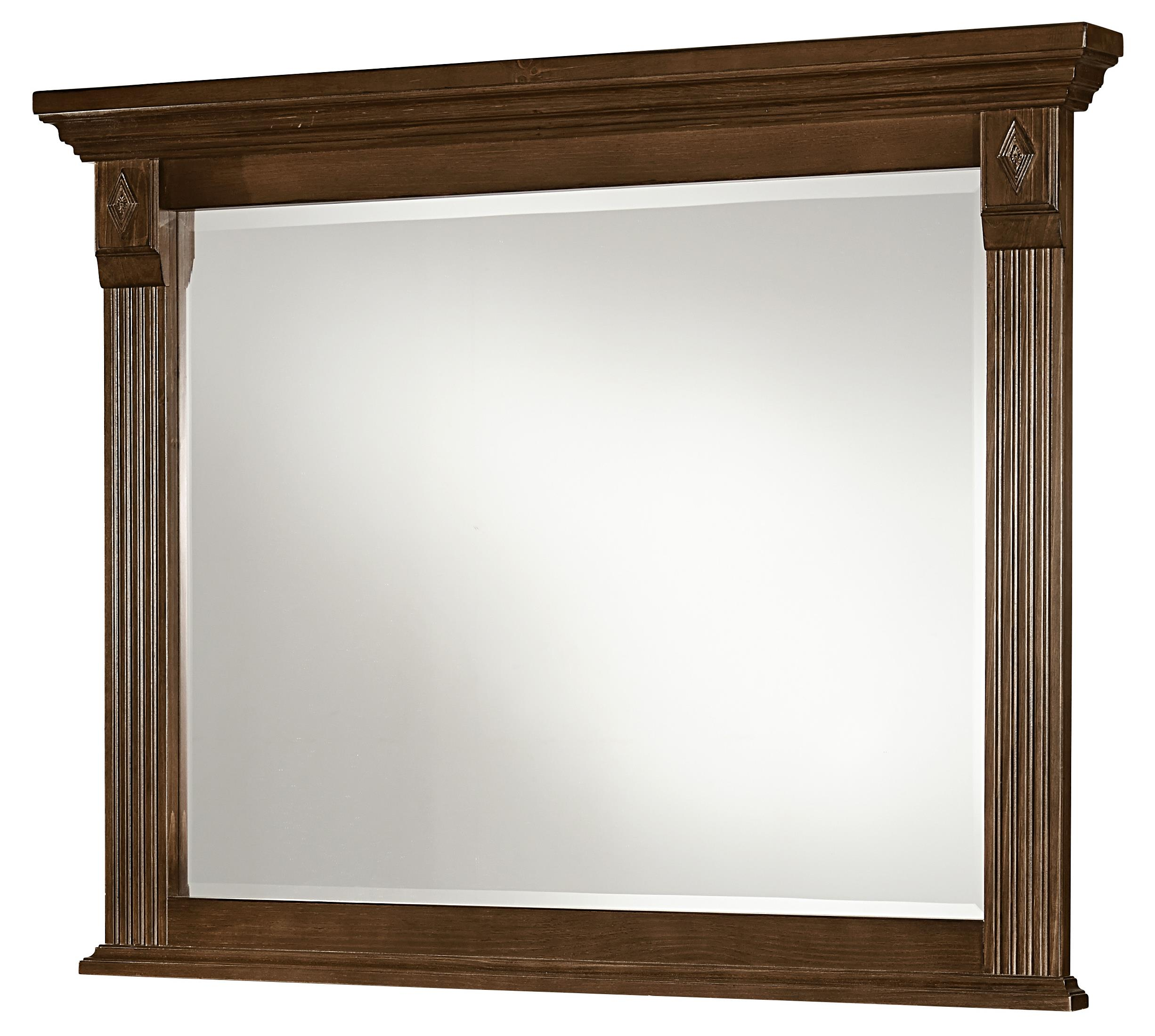 Vaughan Bassett Woodlands Landscape Mirror - Item Number: BB97-446