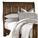 Vaughan Bassett Woodlands King Sleigh Headboard - Item Number: BB97-663