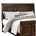 Vaughan Bassett Woodlands Queen Sleigh Headboard - Item Number: BB98-553