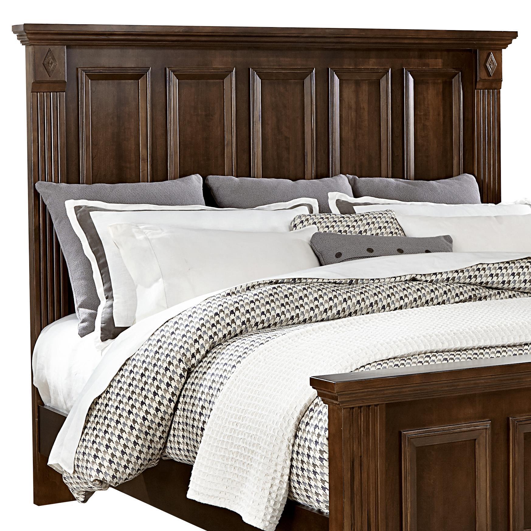 Bassett Furniture San Antonio Tx: Vaughan Bassett Woodlands King Mansion Headboard
