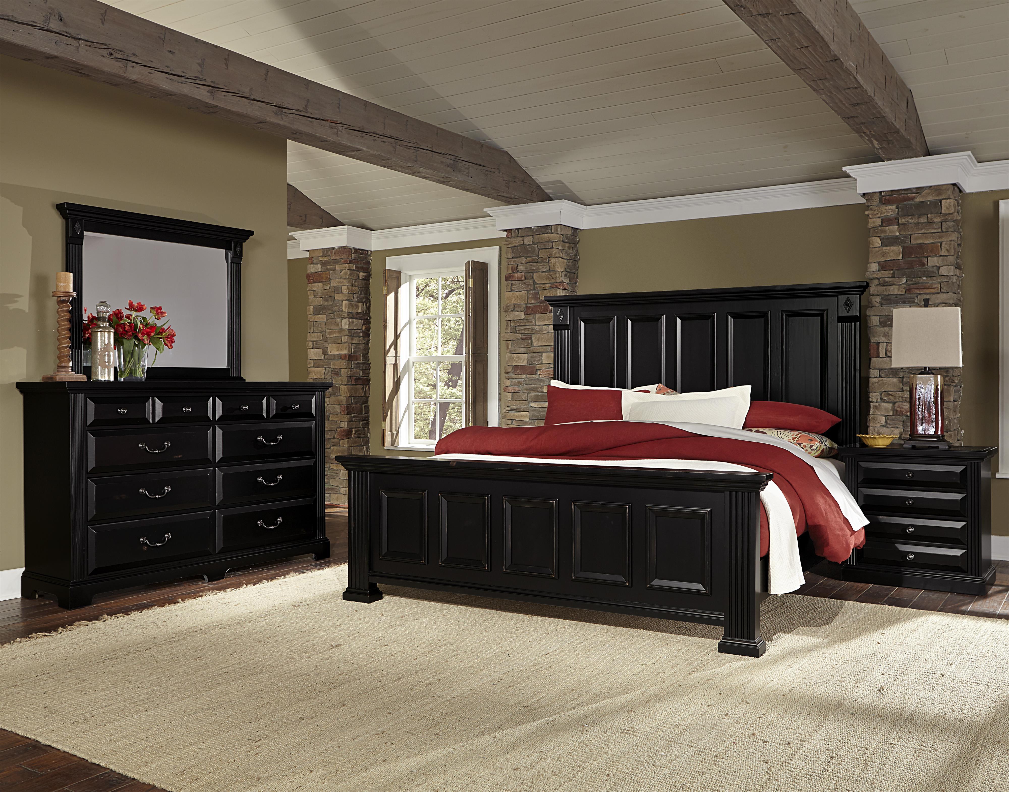 Vaughan Bassett Woodlands Queen Bedroom Group - Item Number: BB99 Q Bedroom Group 2
