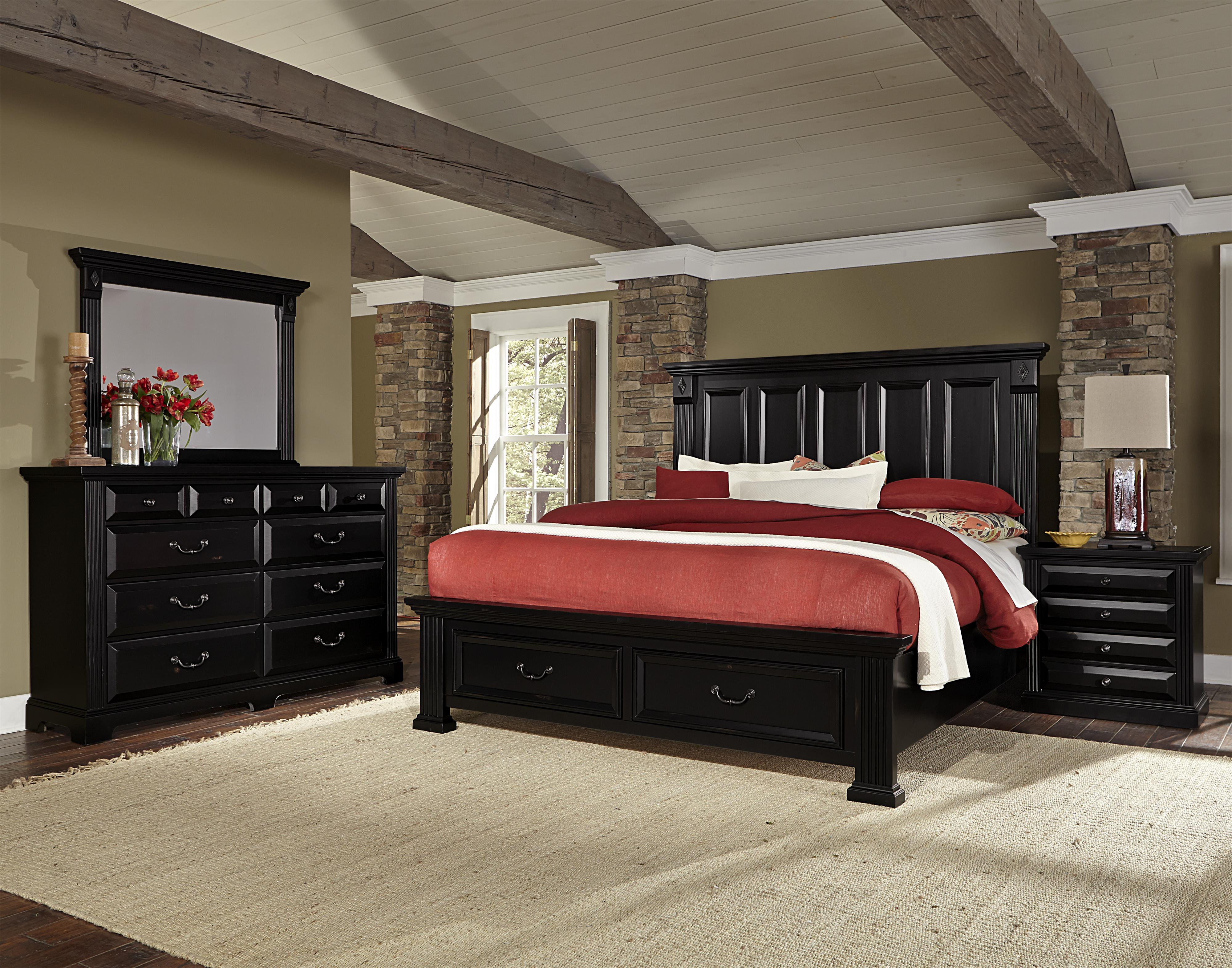 Vaughan Bassett Woodlands King Bedroom Group - Item Number: BB99 K Bedroom Group 4
