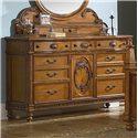 Vaughan Furniture Southern Heritage 7 Drawer 1 Door Dresser - Item Number: 327-03