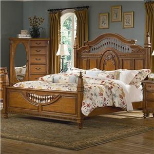 Queen Spindle Bed