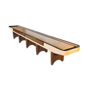 Venture Games Venture Shuffleboards 16' Classic Shuffleboard Table