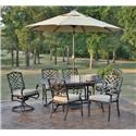 Veranda Classics by Foremost Harmony DINING CHAIR