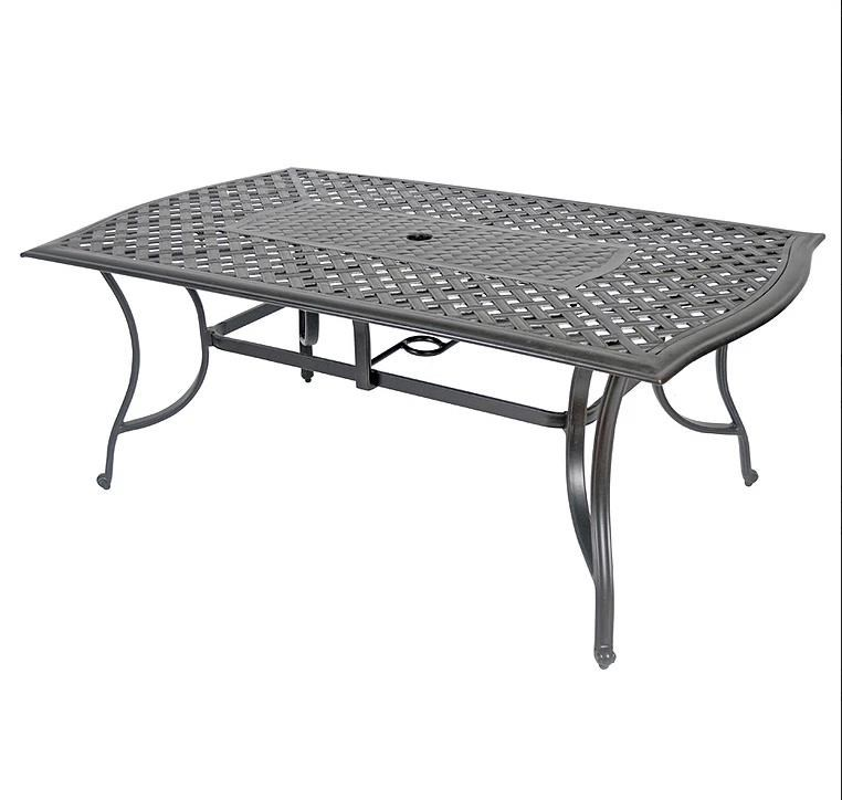 Exceptionnel Veranda Classics By Foremost Harmony RECTANGULAR DINING TABLE W/CAST TOP U0026  EXTRUD   Item
