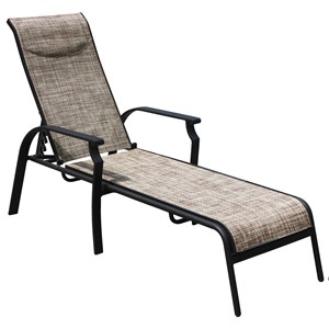 Veranda Classics by Foremost Harrison Sling Chaise Lounge