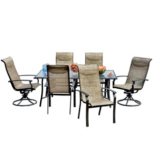 Veranda Classics by Foremost Harrison 7 Piece Outdoor Dining Set