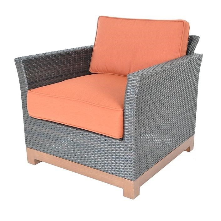 Veranda Classics By Foremost Metro Woven Club Chair   Item Number:  907 12DB4028