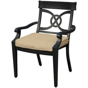 Veranda Classics by Foremost San Dimas Dining Chair with Splat Back