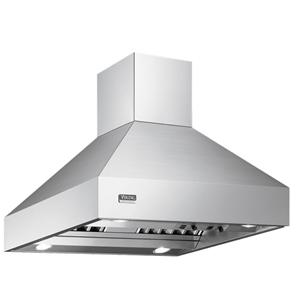"Viking Professional Series 66"" Island-Mount Chimney Hood"